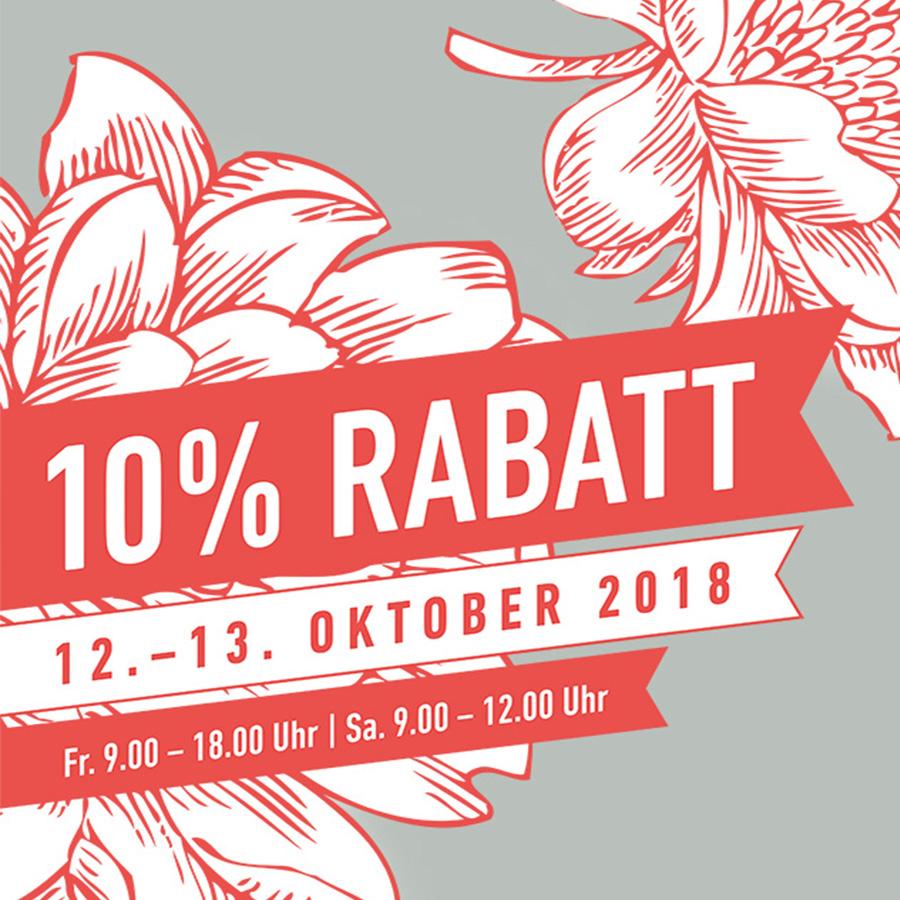 Rabatte Oktober 2018